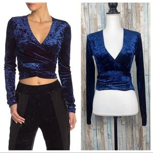 HAH Hot As Hell XS Crushed Velvet Top Notch Wrap